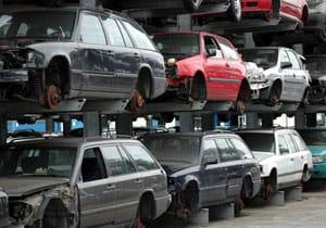 récupération et recyclage d'automobile