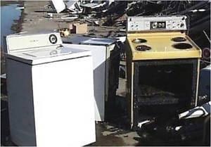 récupération et recyclage d'électroménagers