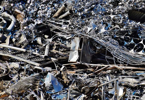 récupération et recyclage de ferraille