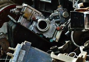 récupération et recyclage des machineries lourdes