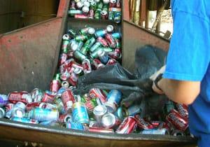 récupération et recyclage des déchets commerciaux